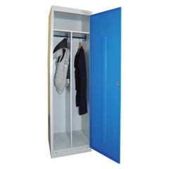 """Шкаф металлический для одежды """"ШРЭК-21-530"""", 2 отделения, 1850х530х500 мм, разборный"""