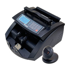 Счетчик банкнот MERCURY C-2000 BLACK, 1000 банкнот/мин., ИК-,УФ- детекция, фасовка, черный
