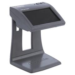 """Детектор банкнот CASSIDA Primero Laser, ЖК-дисплей 11 см, просмотровый, ИК, антитокс, спецэлемент""""М"""""""