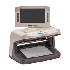 """Детектор банкнот DORS 1300 M2, ЖК-дисплей 18 см, просмотровый, ИК, УФ, АНТИСТОКС, спецэлемент """"М"""""""
