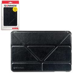 Чехол-обложка для планшетного ПК iPad mini SONNEN, кожзаменитель, подставка, черный