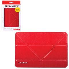 Чехол-обложка для планшетного ПК iPad mini SONNEN, кожзаменитель, подставка, красный