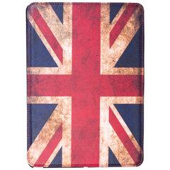 Чехол-обложка для планшетного ПК iPad Air SONNEN, кожзаменитель, подставка, цветная печать, флаг