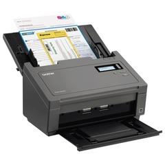 Сканер потоковый BROTHER PDS-5000, А4, 60 стр./мин, 600х600, ДАПД, сетевая карта, LCD (кабель USB в комплекте)