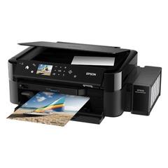 МФУ струйное EPSON L850 (принтер, копир, сканер), А4, 5760х1440 dpi, 37 стр./мин, с СНПЧ, печать фото без ПК
