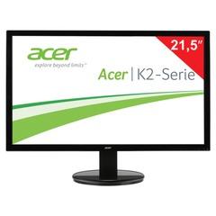 """Монитор LED 21,5"""" (55 см) ACER K222HQLbd (UM.WW3EE.002), 1920x1080, TN+film, 16:9, DVI, D-Sub, 200 cd, 5 ms, черный"""
