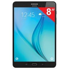 "Планшет SAMSUNG GALAXY Tab A SM-T355N, 8"", 4G (LTE), Wi-Fi, 2/5 Мп, 16 Гб, microSD, черный, пластик"