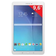 "Планшет SAMSUNG GALAXY Tab E SM-T561N, 9,6"", 3G, Wi-Fi, 2/5 Мп, 8 Гб, microSD, белый, пластик"