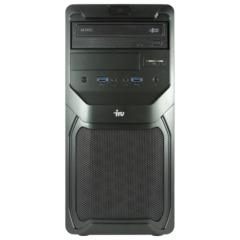 Системный блок IRU Office 310 MT INTEL Celeron G1840, 2,8 ГГц, 4 Гб, 500 Гб, DVD-RW, Windows 7 Pro, черный