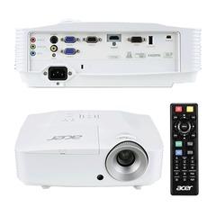 Проектор мультимедийный ACER X1278H, DLP, 1024x768, 3800 Лм, 20000:1, 3D, VGA, HDMI