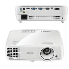 Проектор мультимедийный BENQ MS527, DLP, 800x600, 3300 Лм, 13000:1, 3D, VGA, HDMI