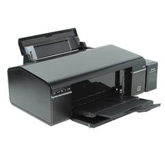 Принтер струйный EPSON L805, А4, 5760х1440 dpi, 37 стр./мин., с СНПЧ, печать на CD/DVD, Wi-Fi (без кабеля USB)