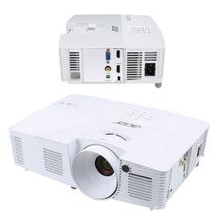 Проектор мультимедийный ACER X125H, DLP, 1024x768, 3300 Лм, 20000:1, 3D, VGA, HDMI