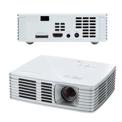 Проектор мультимедийный ACER K135i, DLP, 1280x800, 600 Лм, 10000:1, 3D, HDMI, ультрапортативный
