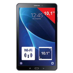 "Планшет SAMSUNG GALAXY Tab A, 10,1"", 4G (LTE), 2/8 Мп, 16 ГБ, MicroSD, черный, пластик"