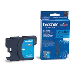 Картридж струйный BROTHER (LC-1100С) DCP-6690CW/385C, MFC-990CW, голубой, оригинальный