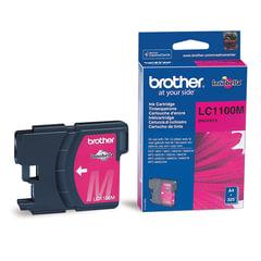 Картридж струйный BROTHER (LC-1100M) DCP-6690CW/385C, MFC-990CW, пурпурный, оригинальный