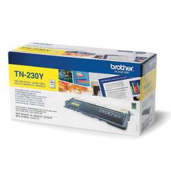 Картридж лазерный BROTHER (TN230Y) DCP-9010CN/MFC-9120CN и другие, желтый, ориг., ресурс 1400 стр.