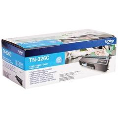 Картридж лазерный BROTHER (TN326C) HL-L8250CDN/MFC-L8650CDW, голубой, оригинальный, ресурс 4000 стр.