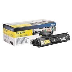 Картридж лазерный BROTHER (TN326Y) HL-L8250CDN/MFC-L8650CDW, желтый, оригинальный, ресурс 4000 стр.