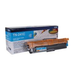 Картридж лазерный BROTHER (TN241C) HL-3140CW/DCP-9020CDW/MFC-9140CDN и другие, голубой, оригинальный, ресурс 1400 стр.