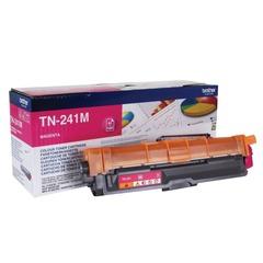 Картридж лазерный BROTHER (TN241M) HL-3140CW/DCP-9020CDW/MFC-9140CDN и другие, пурпурный, оригинальный, ресурс 1400 стр.