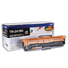 Картридж лазерный BROTHER (TN241BK) HL-3140CW/DCP-9020CDW/MFC-9140CDN и другие, черный, оригинальный, ресурс 1400 стр.