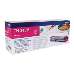 Картридж лазерный BROTHER (TN245M) HL-3140CW/DCP-9020CDW/MFC-9140CDN и другие, пурпурный, оригинальный, ресурс 2200 стр.