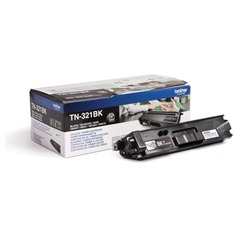 Картридж лазерный BROTHER (TN321BK) HL-L8250CDN/MFC-L8650CDW, черный, оригинальный, ресурс 2500 стр.
