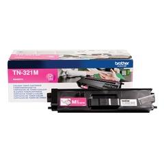 Картридж лазерный BROTHER (TN321M) HL-L8250CDN/MFC-L8650CDW, пурпурный, оригинальный, ресурс 1500 стр.