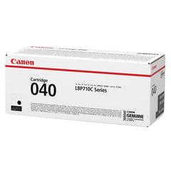 Картридж лазерный CANON (040BK) i-SENSYS LBP710Cx/LBP712Cx, оригинальный, черный, ресурс 6300 страниц