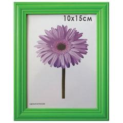 "Рамка премиум 10х15 см, ""Linda"", дерево, зеленая (для фотографий)"