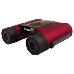 """Бинокль LEVENHUK """"Rainbow 8x25"""", увеличение х8, объектив 25 мм, красный"""