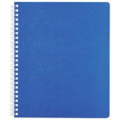 """Тетрадь 80 л., А4 HATBER, гребень, клетка, пластиковая обложка, """"WOOD"""" (голубая)"""