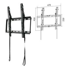 """Кронштейн-крепление для ТВ настенный WIZE WT47, VESA 50-400/400, 23""""-47"""", 35 кг, 1 степень свободы, черный"""