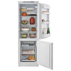 Холодильник INDESIT SB 185, общий объем 339 л, нижняя морозильная камера 104 л, 60x66,5x185 см, белый