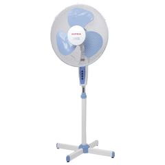Вентилятор напольный SUPRA VS-1615R, d=40 см, 50 Вт, 3 скоростных режима, белый/голубой
