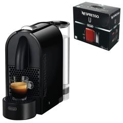 Кофемашина капсульная DELONGHI Nespresso EN 110.B, 1260 Вт, объем 0,7 л, черная + капсулы на 16 чашек