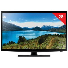 "Телевизор LED 28"" SAMSUNG UE28J4100,1366x768, HD Ready, 16:9, 100 Гц, HDMI, USB, черный, 4 кг"