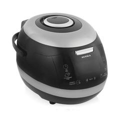 Мультиварка SUPRA MCS-5201, мощность 860 Вт, объем 5 л, 3D нагрев, голосовой ассистент, 120 программ, серебро