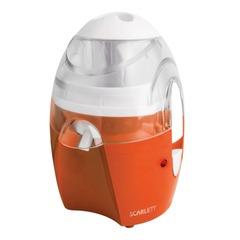 Соковыжималка SCARLETT SC-JE50S25, емкость для жмыха 0,3 л, мощность 550 Вт, пластик, оранжевая