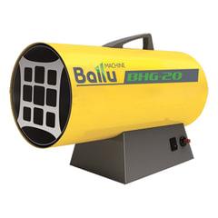 Тепловая пушка газовая BALLU BHG-20, 17000 Вт, 220 В, максимальный расход 1,6 кг/ч, желтая