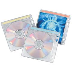 Конверты для CD/DVD BRAUBERG (БРАУБЕРГ), комплект 40 шт., на 2CD/DVD, упаковка с европодвесом