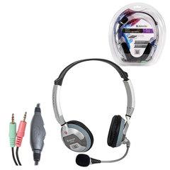 Наушники с микрофоном (гарнитура) DEFENDER HN-928, 3 м, стерео с оголовьем, регулятор громкости