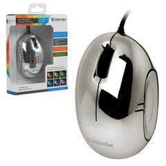 Мышь проводная DEFENDER Rainbow MS-770L Chrome, USB, оптическая, 2 кнопки + 1 колесо-кнопка