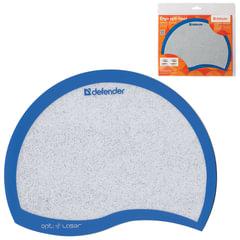 Коврик для мыши DEFENDER Ergo opti-laser, спвх+полиуритан, 215х165х1,2 мм, синий