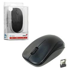 Мышь беспроводная GENIUS NX-7000, 2 кнопки + 1 колесо-кнопка, оптическая, чёрная
