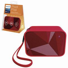 Колонка портативная PHILIPS BT110R/00, 4 Вт, Bluetooth, красная