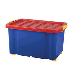 """Ящик для хранения игрушек """"Jumbo"""", 60 л, размер 39,3х59,3х33,9 см, на колесах, с крышкой"""
