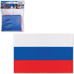 Флаг РФ, 90х135 см, упаковка с европодвесом